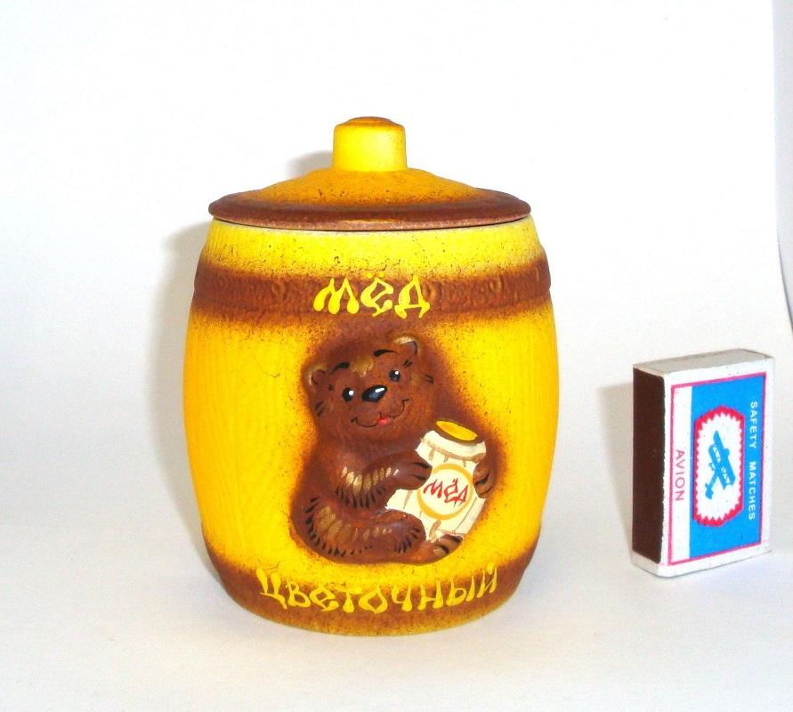 Бочонки с медом в подарок